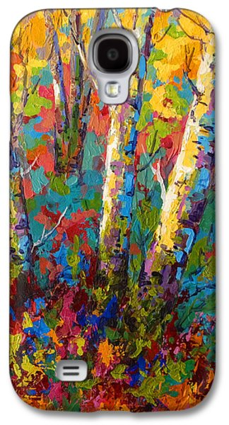 Abstract Autumn II Galaxy S4 Case by Marion Rose