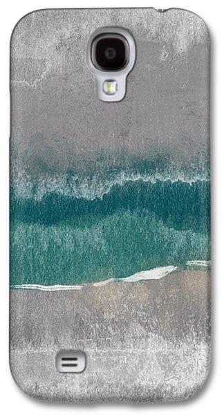 Beach Landscape Galaxy S4 Case - Abstract Beach Landscape- Art By Linda Woods by Linda Woods