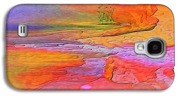 Abstract Beyond The Sea Galaxy S4 Case by Sherri's Of Palm Springs
