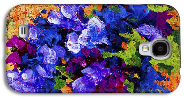 Daisy Galaxy S4 Case - Abstract Boquet 3 by Marion Rose