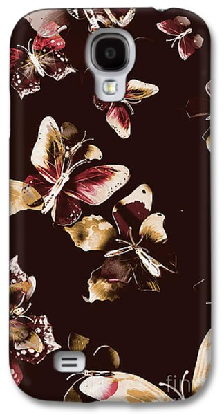 Abstract Butterfly Fine Art Galaxy S4 Case