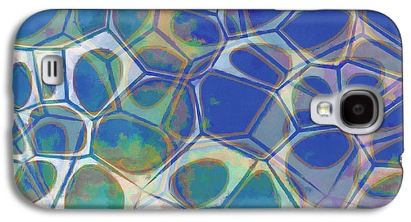 Abstract Cells 5 Galaxy S4 Case by Edward Fielding