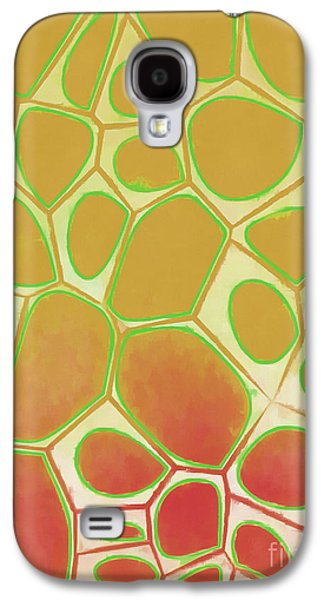 Abstract Cells 2 Galaxy S4 Case by Edward Fielding