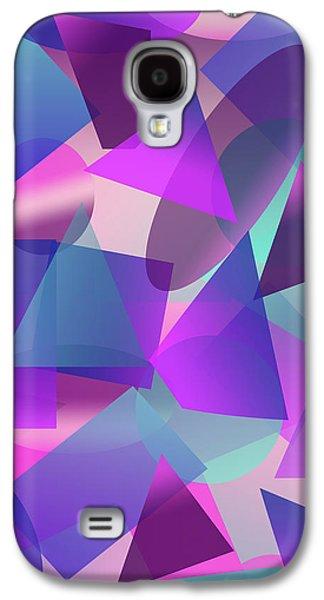 Abstract Cube II Galaxy S4 Case by Amir Faysal