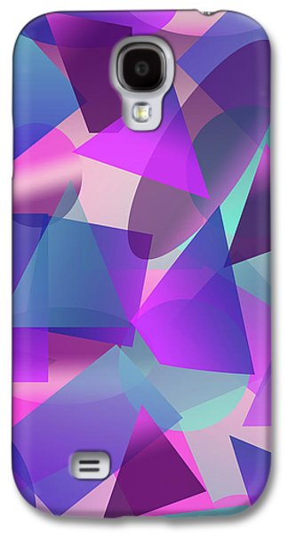 Abstract Cube II Galaxy S4 Case