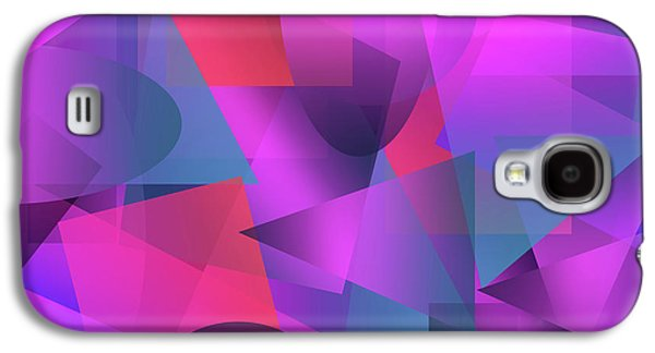 Abstract Cubes Galaxy S4 Case