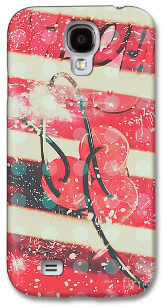 Abstract Dynamite Charge Galaxy S4 Case