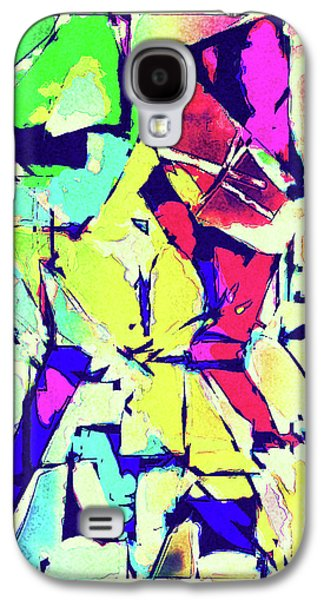 Abstract Explosion Galaxy S4 Case by Susan Leggett