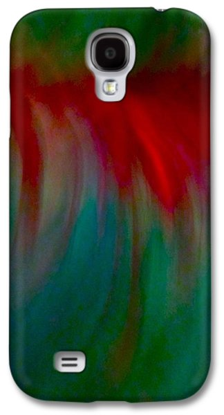 Abstract Flowing Galaxy S4 Case
