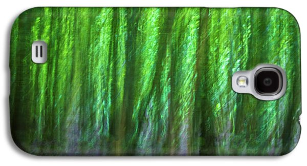 Abstract Forest Galaxy S4 Case