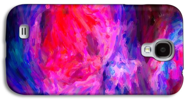 Abstract Galactic Nebula With Cosmic Cloud 6   24x16 Galaxy S4 Case
