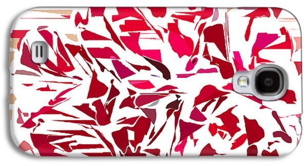 Abstract Geranium Galaxy S4 Case