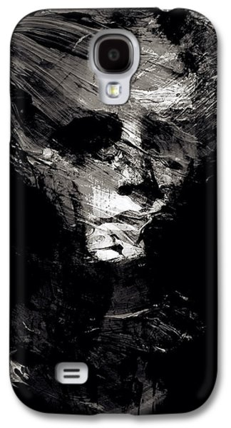 Abstract Ghost Black And White Galaxy S4 Case