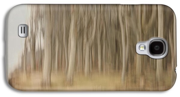 Abstract Ghost Forest Galaxy S4 Case