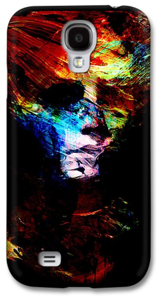 Abstract Ghost Galaxy S4 Case