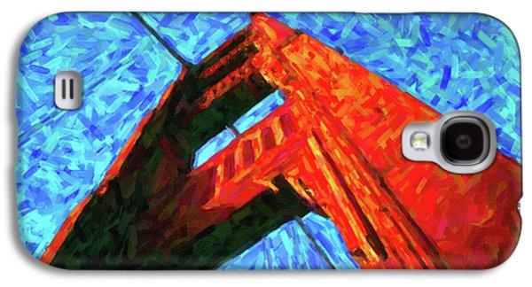 Abstract Golden Gate Bridge Galaxy S4 Case by Adam Asar