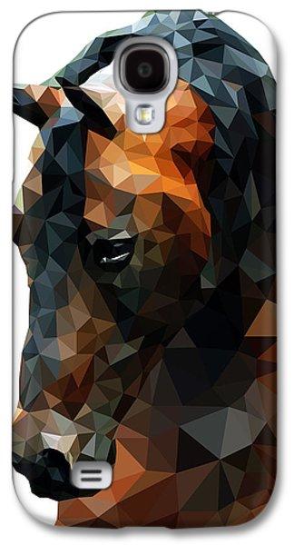 Abstract Horse Galaxy S4 Case