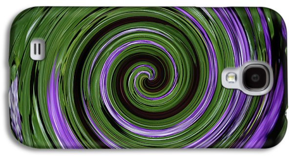 Abstract I Galaxy S4 Case by DigiArt Diaries by Vicky B Fuller