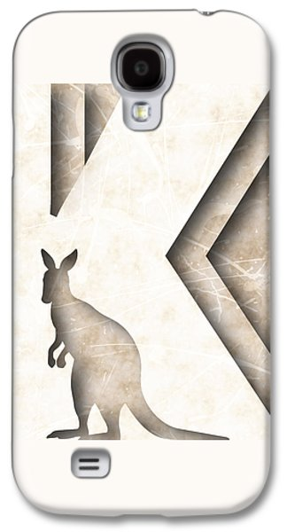 Abstract K Galaxy S4 Case by Vanessa Bates