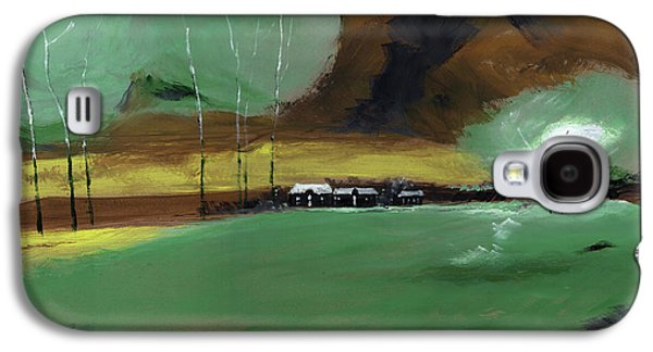 Abstract Landscape Galaxy S4 Case by Anil Nene