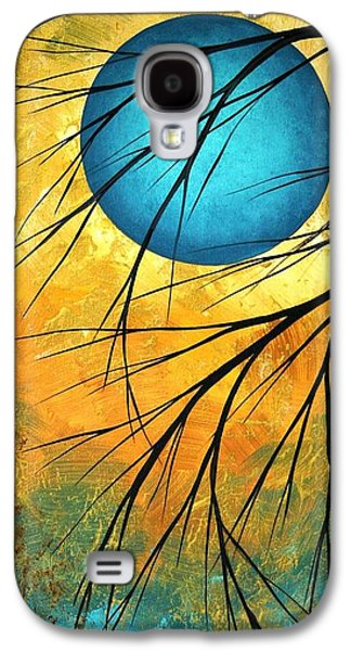 Abstract Landscape Art Passing Beauty 1 Of 5 Galaxy S4 Case by Megan Duncanson