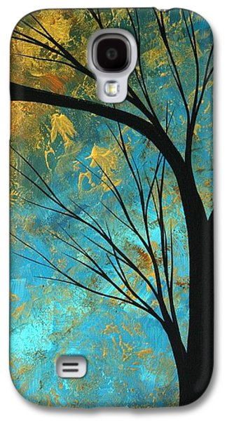 Madart Galaxy S4 Cases - Abstract Landscape Art PASSING BEAUTY 3 of 5 Galaxy S4 Case by Megan Duncanson