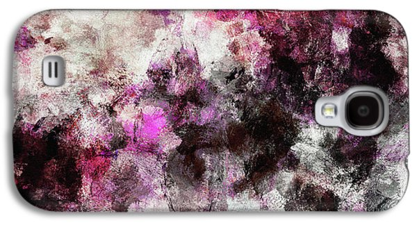 Abstract Landscape Painting In Purple And Pink Tones Galaxy S4 Case by Ayse Deniz