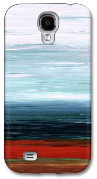 Abstract Landscape - Ruby Lake - Sharon Cummings Galaxy S4 Case by Sharon Cummings