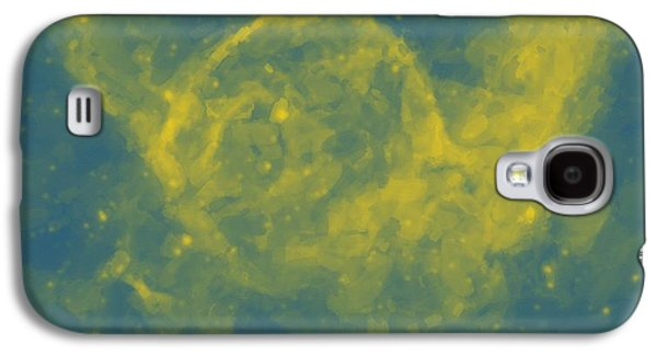 Abstract Nebulla With Galactic Cosmic Cloud 29a Galaxy S4 Case