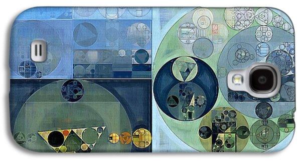 Abstract Painting - Bermuda Grey Galaxy S4 Case by Vitaliy Gladkiy