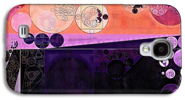 Abstract Painting - Fuzzy Wuzzy Galaxy S4 Case