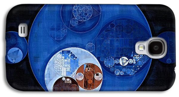 Abstract Painting - Pale Cerulean Galaxy S4 Case by Vitaliy Gladkiy