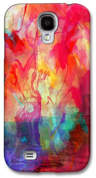 Abstract Painting Galaxy S4 Case by Tom Gowanlock