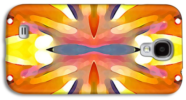Abstract Paradise Galaxy S4 Case by Amy Vangsgard