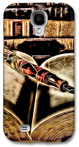 Abstract Pen On Book Galaxy S4 Case