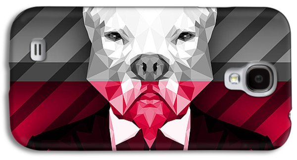 Abstract Pitbull 2 Galaxy S4 Case by Gallini Design
