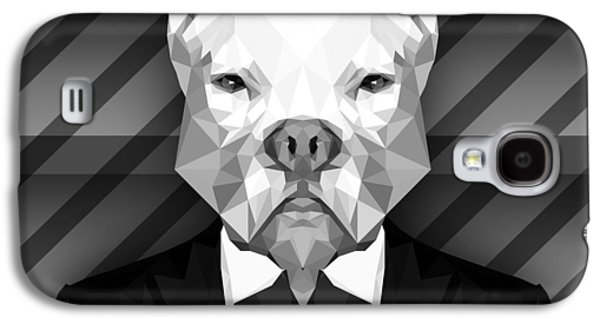 Abstract Pitbull 4 Galaxy S4 Case by Gallini Design