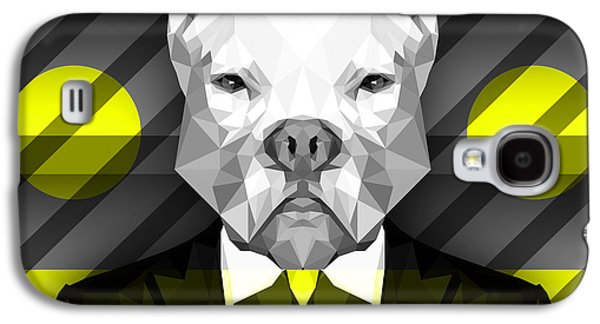 Abstract Pitbull 5 Galaxy S4 Case by Gallini Design