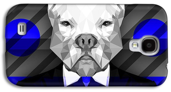 Abstract Pitbull 6 Galaxy S4 Case by Gallini Design