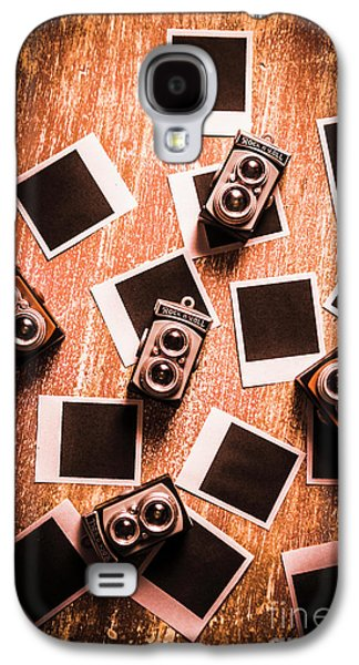 Abstract Retro Camera Background Galaxy S4 Case by Jorgo Photography - Wall Art Gallery