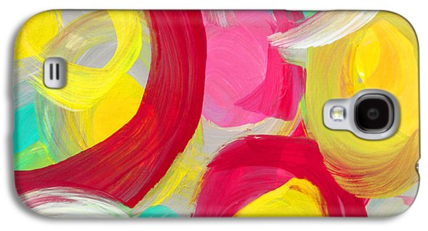 Abstract Rose Garden In The Morning Light 1 Galaxy S4 Case by Amy Vangsgard