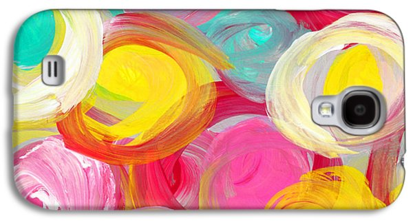 Abstract Rose Garden In The Morning Light 2 Galaxy S4 Case by Amy Vangsgard
