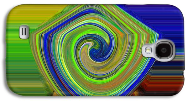 Abstract Shapes And Swirls Galaxy S4 Case