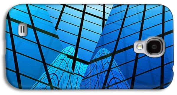 Abstract Skyscrapers Galaxy S4 Case
