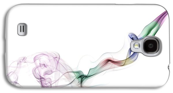 Abstract Smoke Galaxy S4 Case