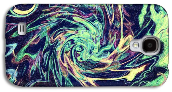 Abstract - Swirls And Eddies Galaxy S4 Case