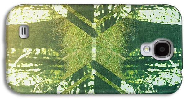 Abstract Trees Galaxy S4 Case