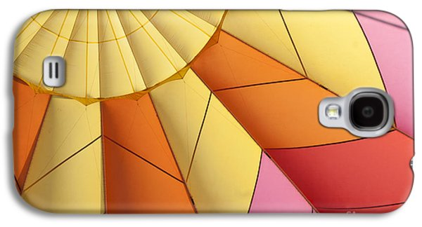 Abstract View Of Hot Air Balloon Galaxy S4 Case by Juli Scalzi