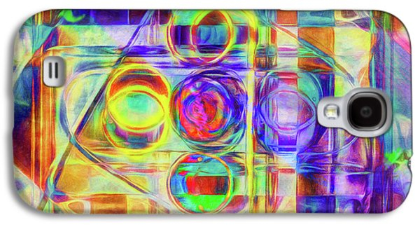 Abstract - Wheels Within Wheels Galaxy S4 Case