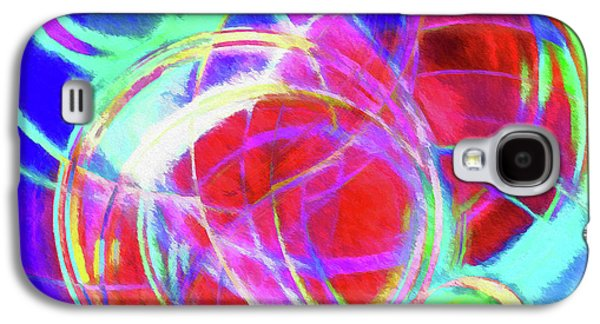 Abstract - Where Worlds Collide Galaxy S4 Case